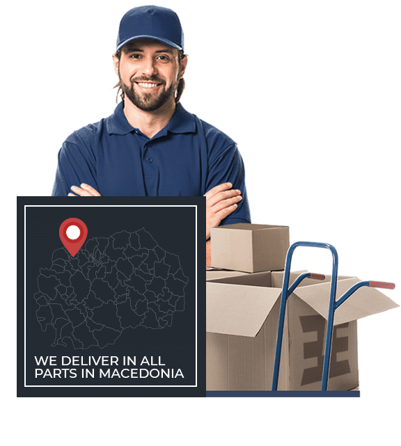 we deliver macedonia
